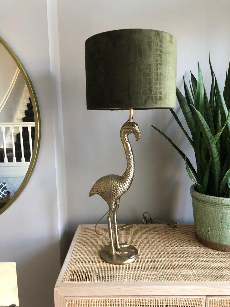 Gold Flamingo