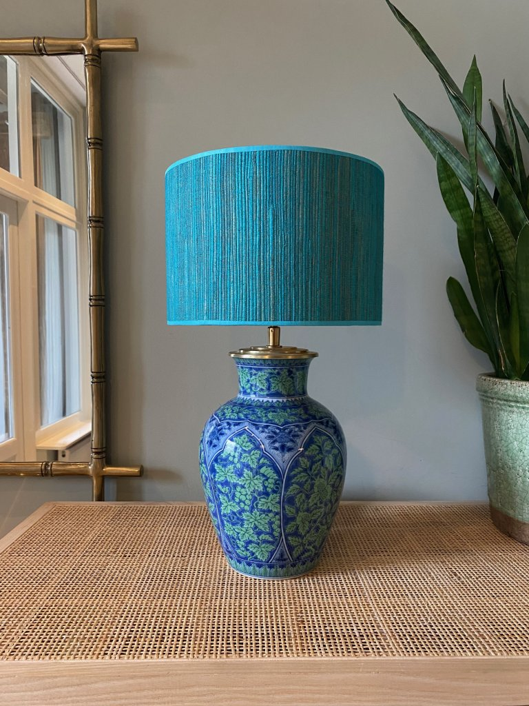 Green and Blue vintage Imari